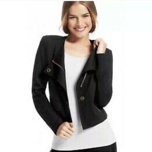 CAbi   #615 Black Moto Jacket Size Medium